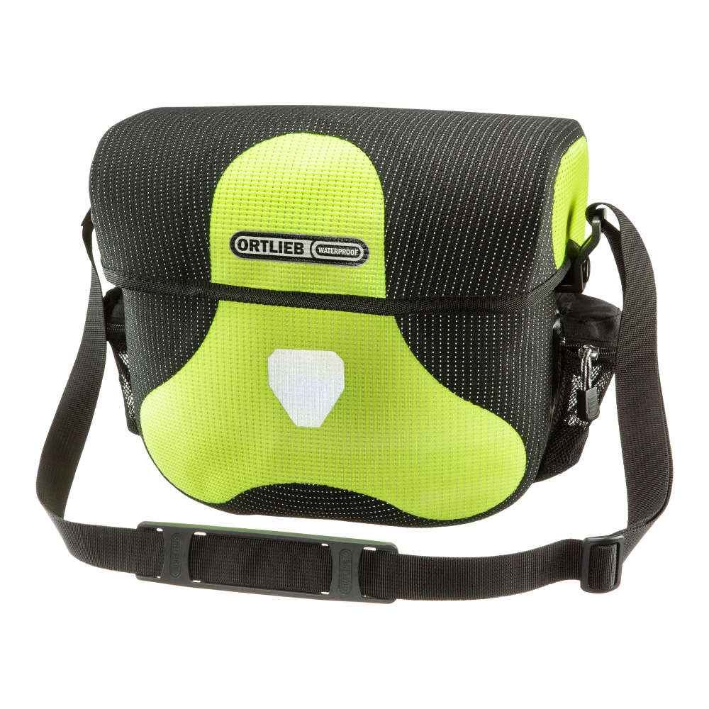 ORTLIEB Ultimate Six High Visibility - neon yellow - black reflex