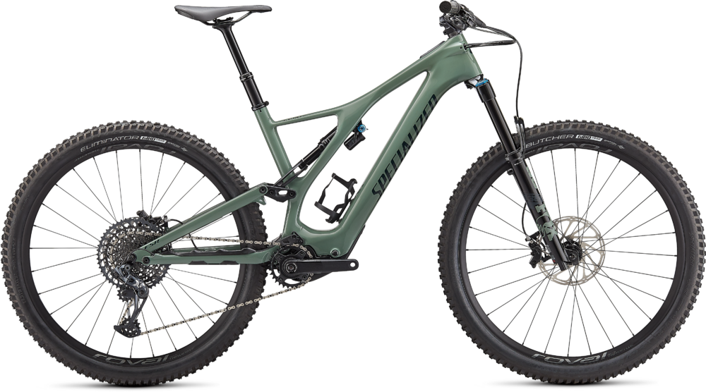 Specialized Turbo Levo SL Expert Carbon Gloss Sage / Forest Green XL